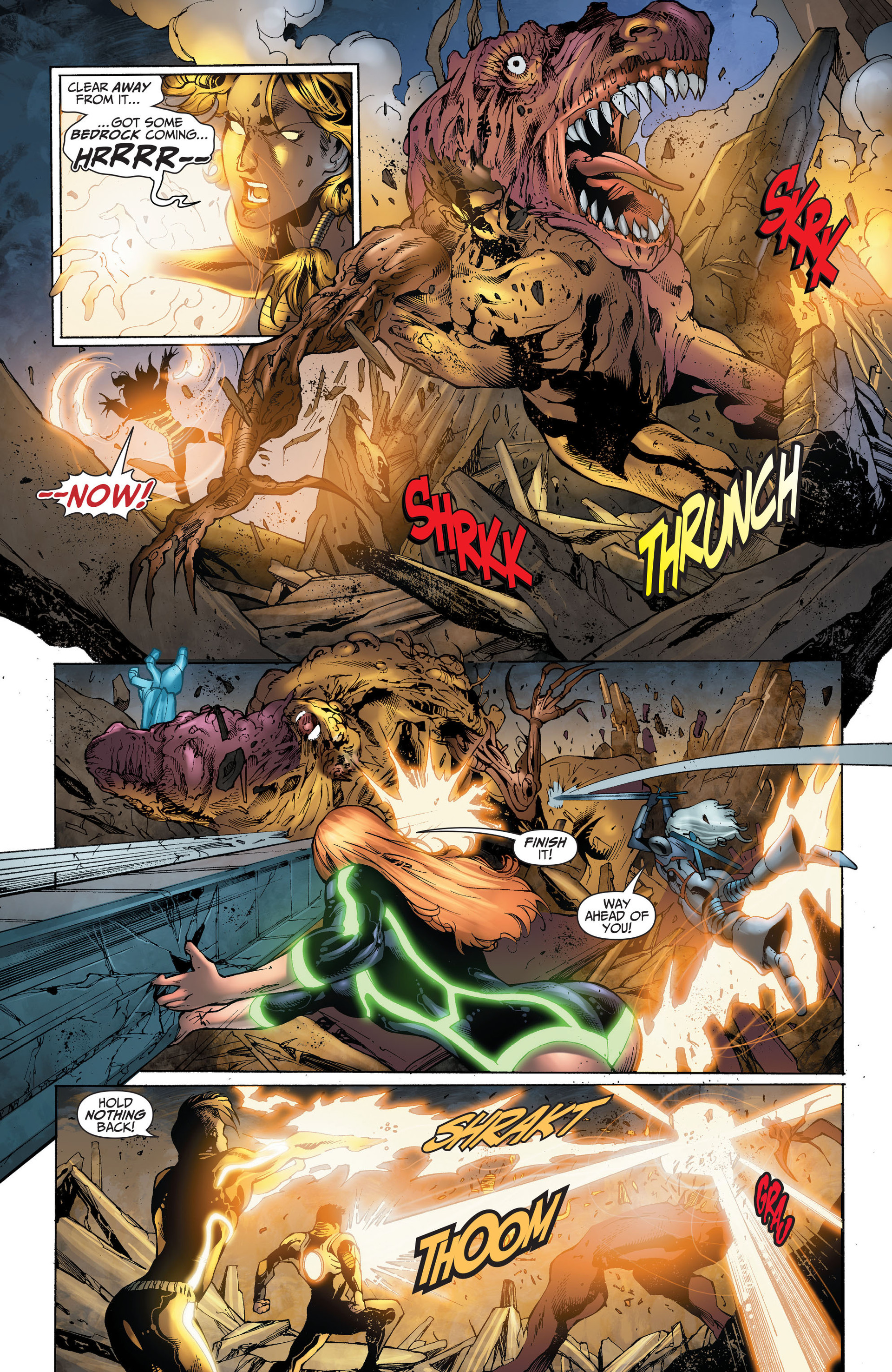 Read online The Ravagers comic -  Issue #11 - 18
