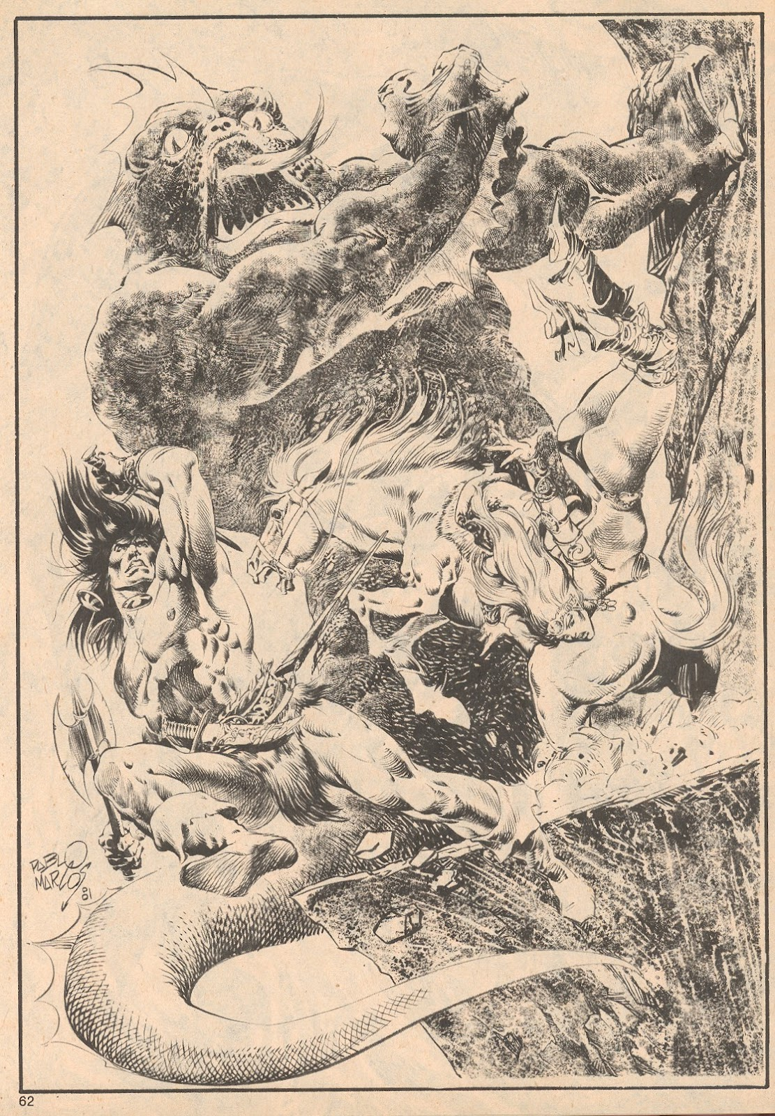 The Savage Sword Of Conan Issue #68 #69 - English 62