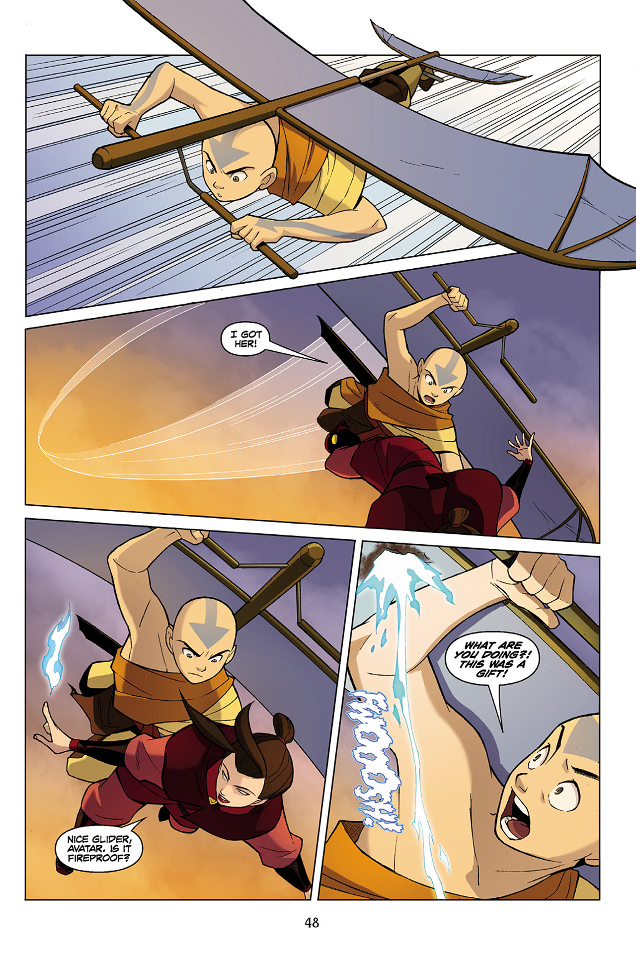 Read online Nickelodeon Avatar: The Last Airbender - The Search comic -  Issue # Part 1 - 49