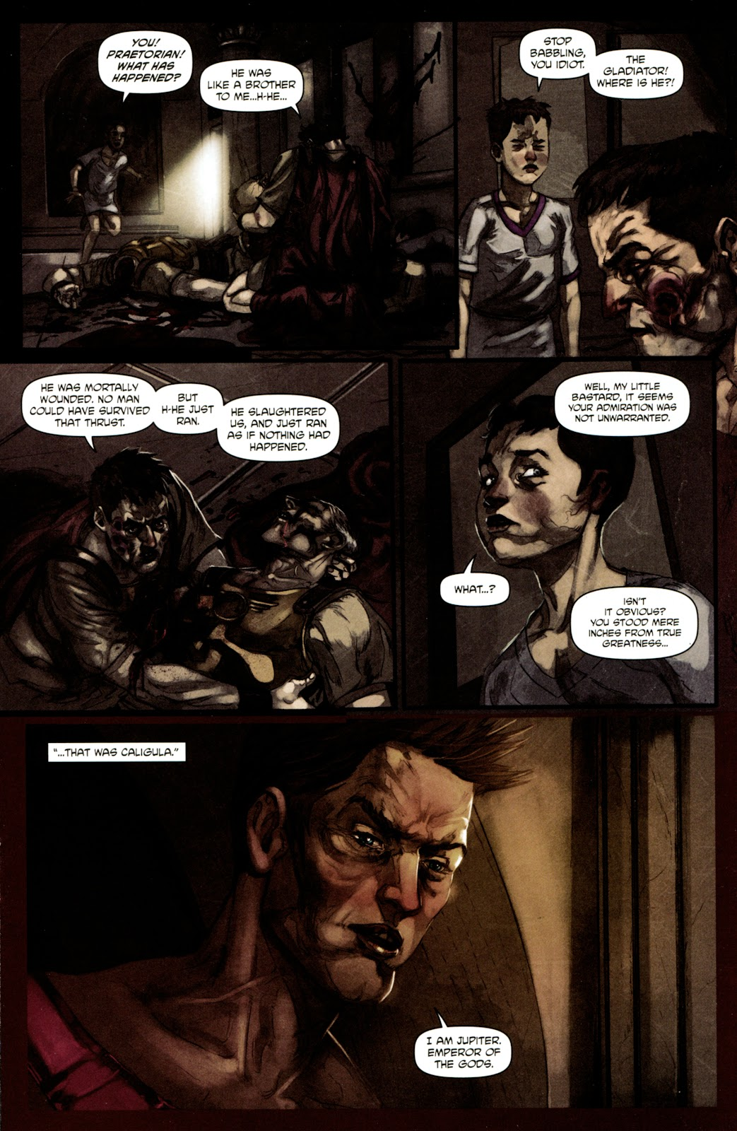 Caligula: Heart of Rome Issue #4 #4 - English 13