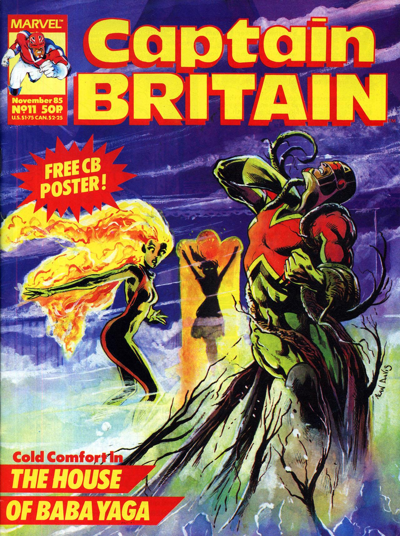 Captain Britain (1985) 11 Page 1