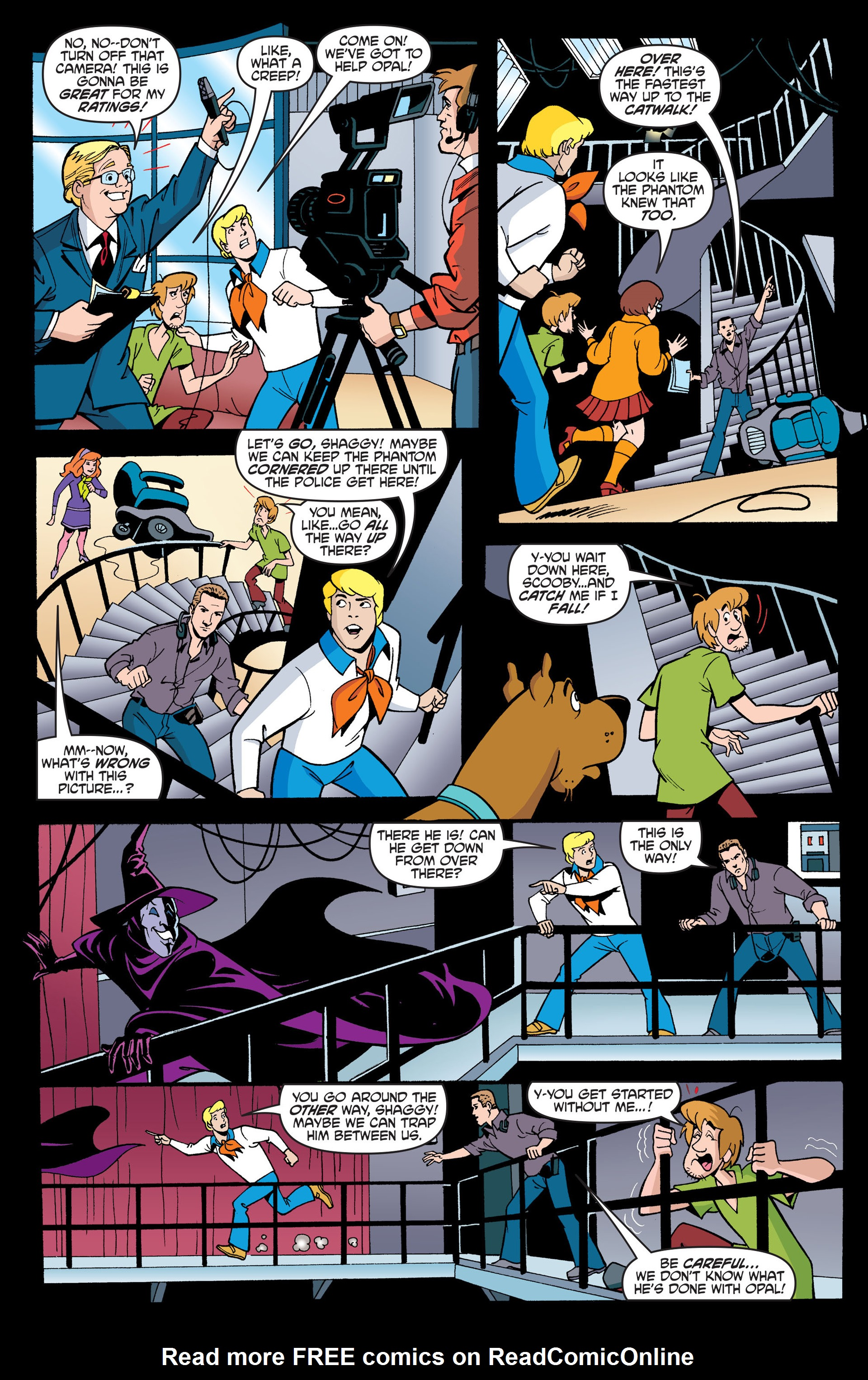 Read online Scooby-Doo: Where Are You? comic -  Issue #44 - 20