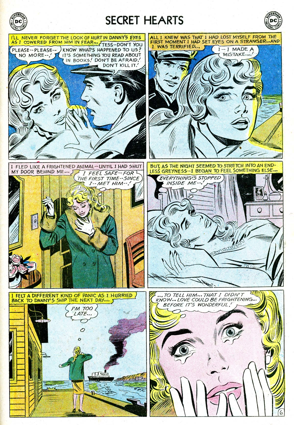 Read online Secret Hearts comic -  Issue #85 - 23