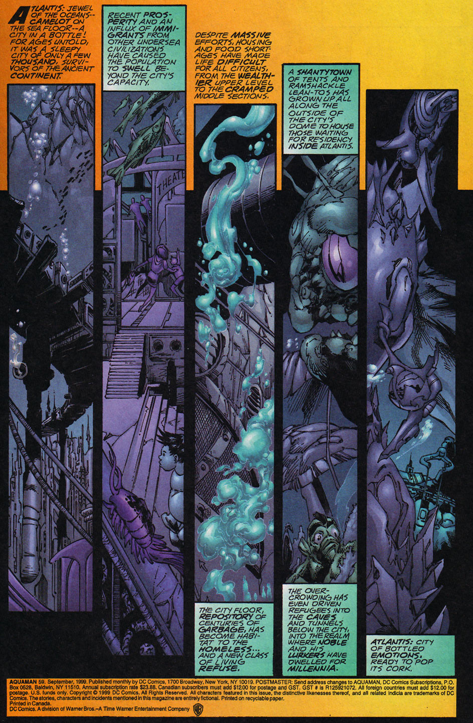 Aquaman (1994) Issue #59 #65 - English 2