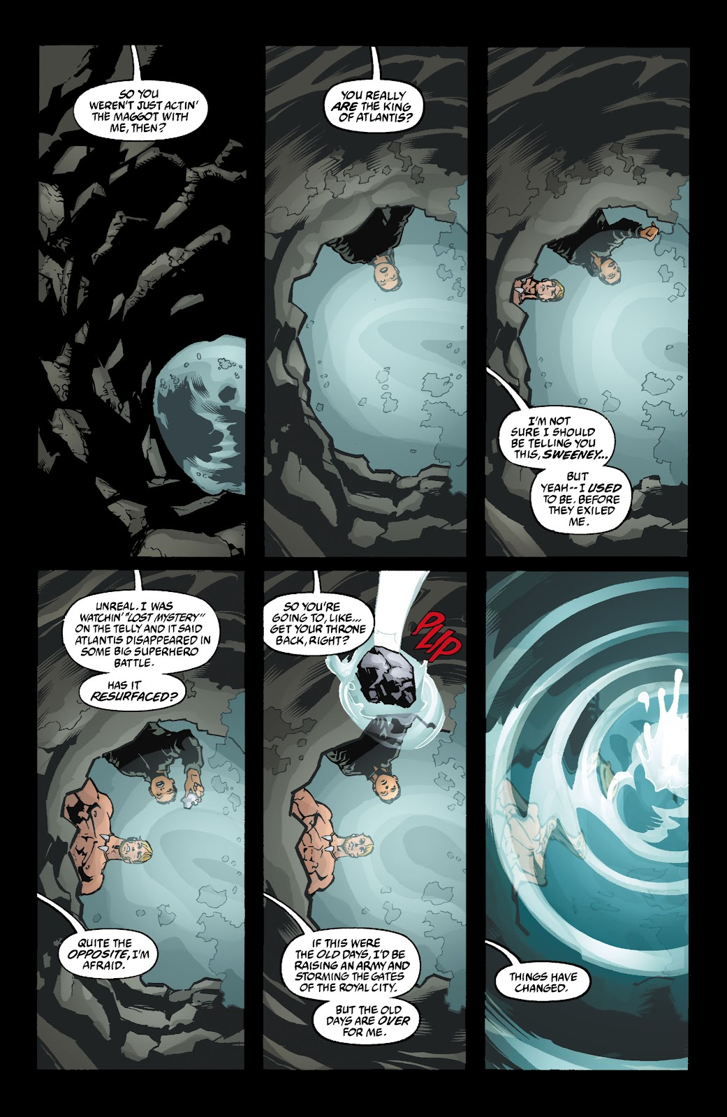 Aquaman (2003) Issue #4 #4 - English 2