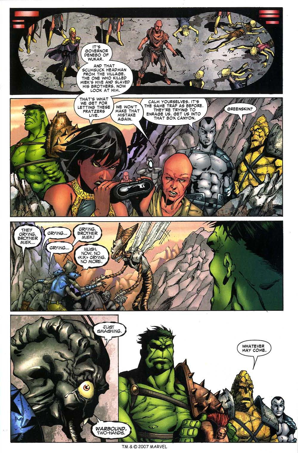 Read online The Incredible Hulk (2000) comic -  Issue #97 - 15