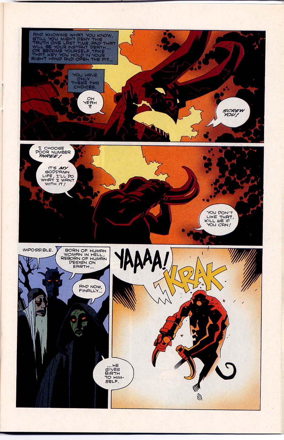 Hellboy: Wake the Devil Issue #5 #5 - English 21