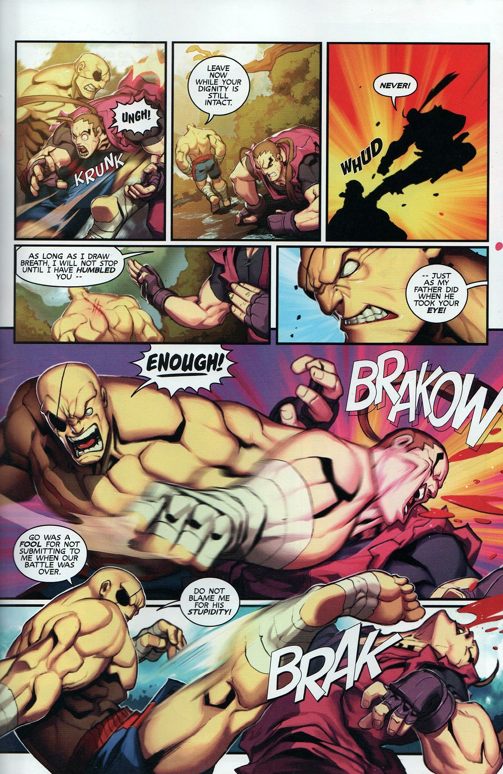 Street Fighter Unlimited Issue #8 #10 - English 23