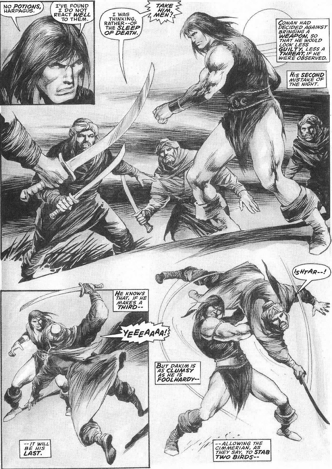 The Savage Sword Of Conan Issue #207 #208 - English 21
