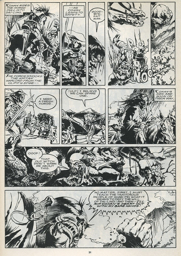 The Savage Sword Of Conan Issue #175 #176 - English 33