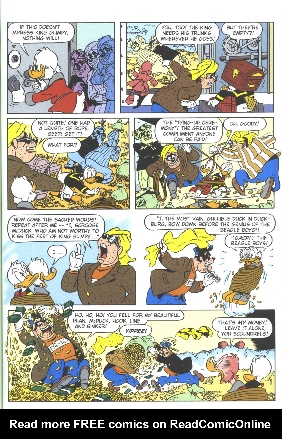 Uncle Scrooge (1953) Issue #309 #309 - English 57