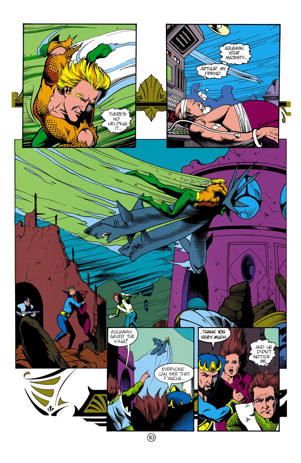 Aquaman (1991) Issue #3 #3 - English 11
