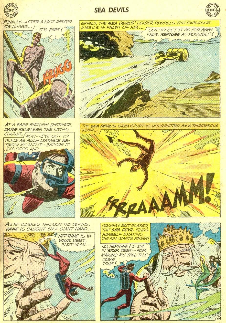 Read online Sea Devils comic -  Issue #10 - 32