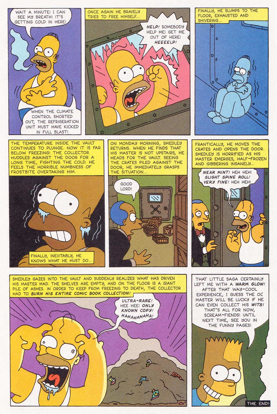 Read online Simpsons Comics comic -  Issue #1 - 32