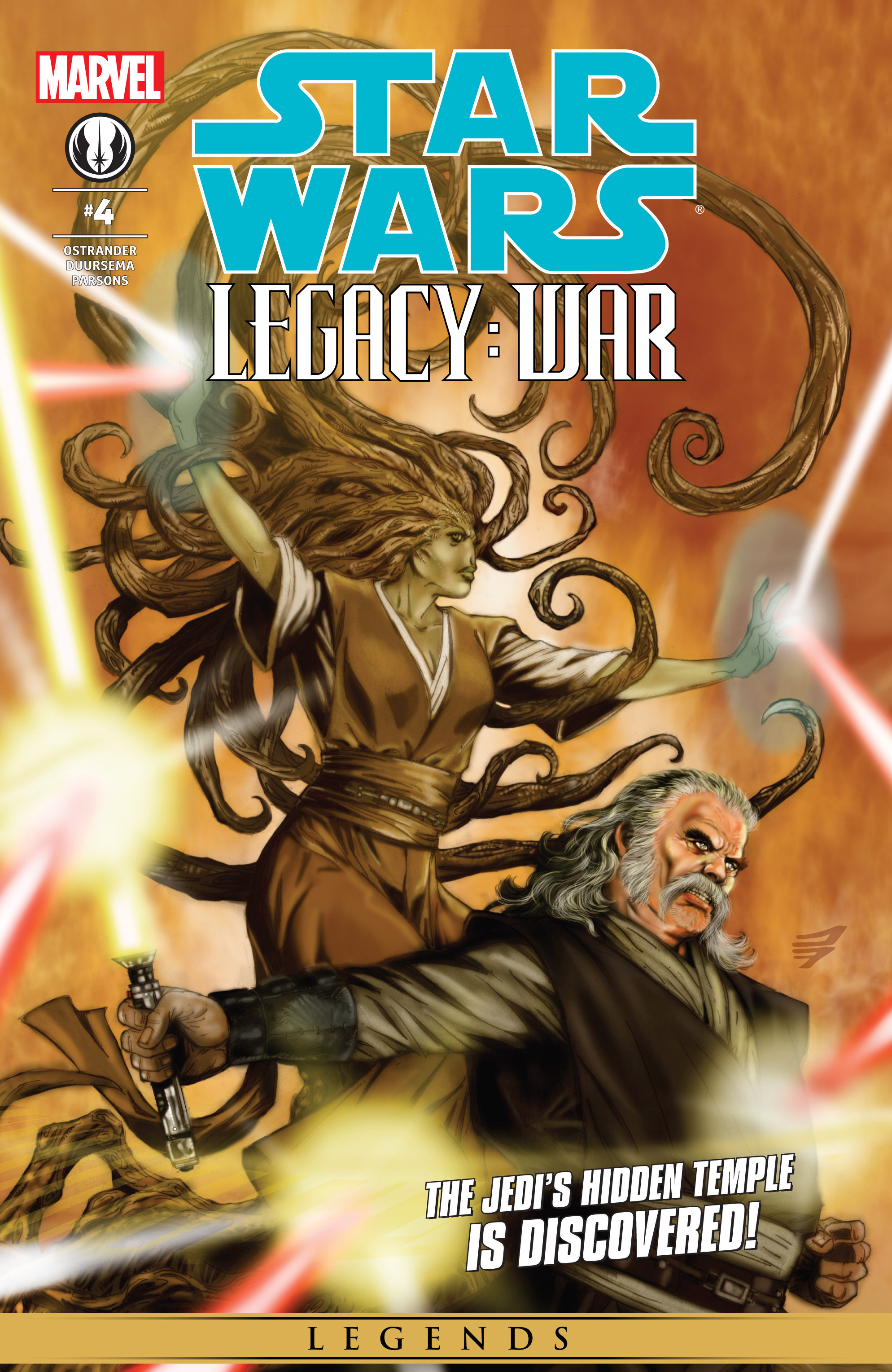 Star Wars: Legacy War 4 Page 1