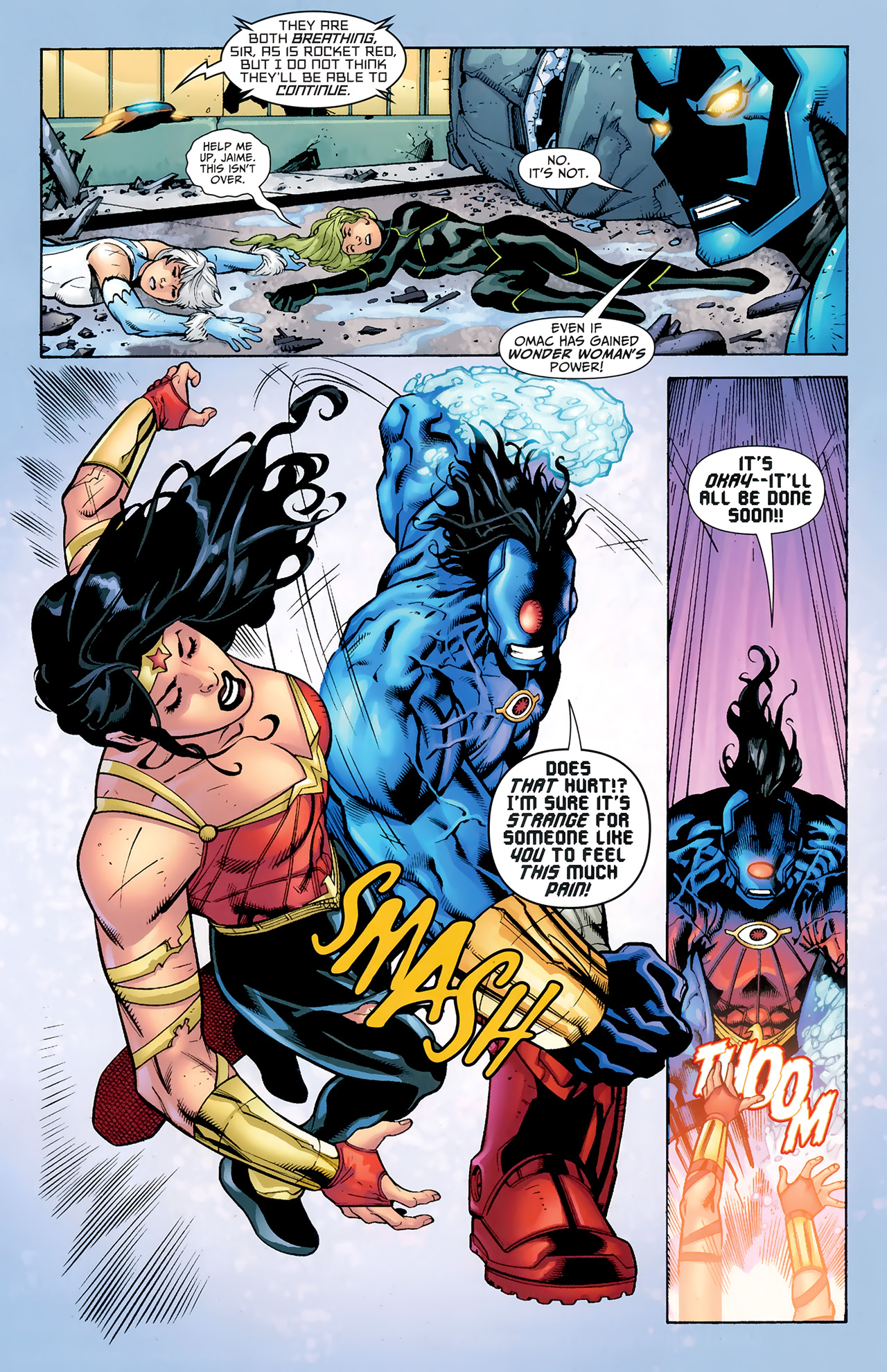 Read online Justice League: Generation Lost comic -  Issue #24 - 21