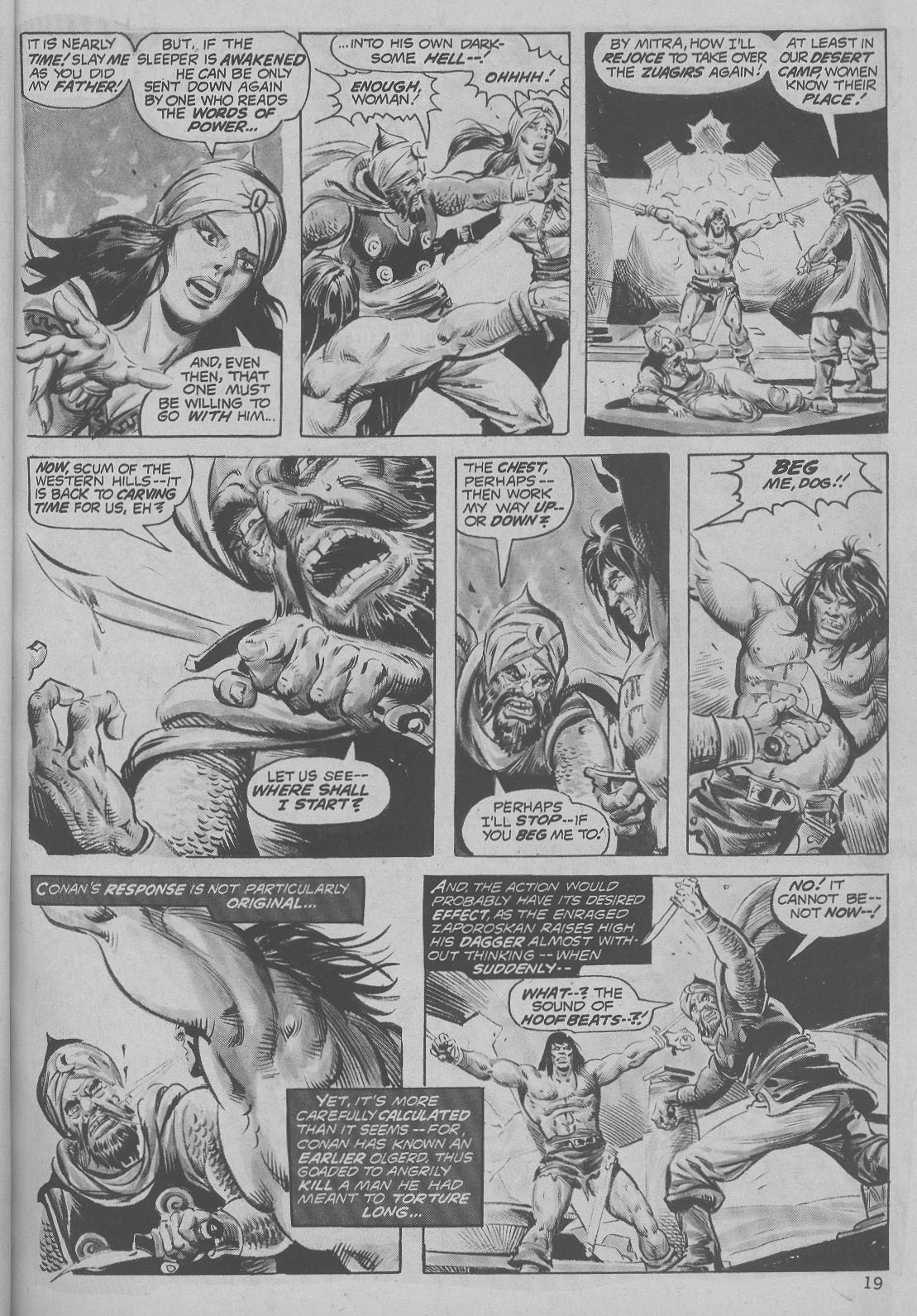 The Savage Sword Of Conan Issue #6 #7 - English 19