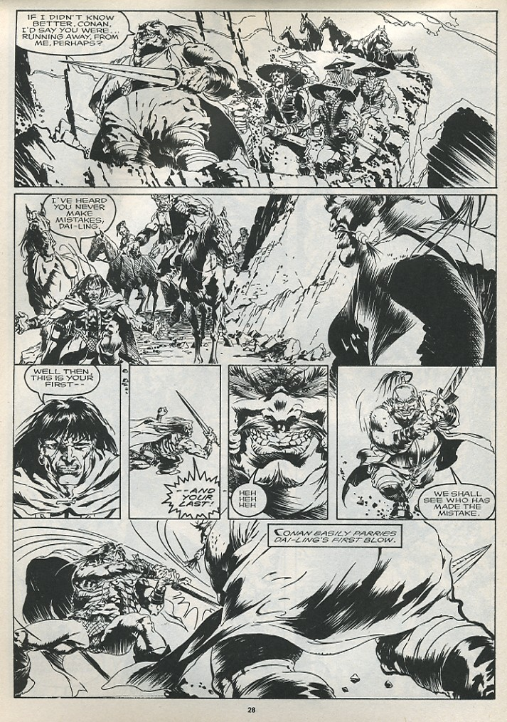 The Savage Sword Of Conan Issue #175 #176 - English 30