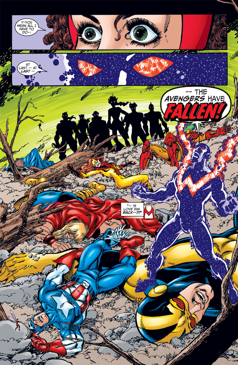Read online Avengers (1998) comic -  Issue #10 - 22