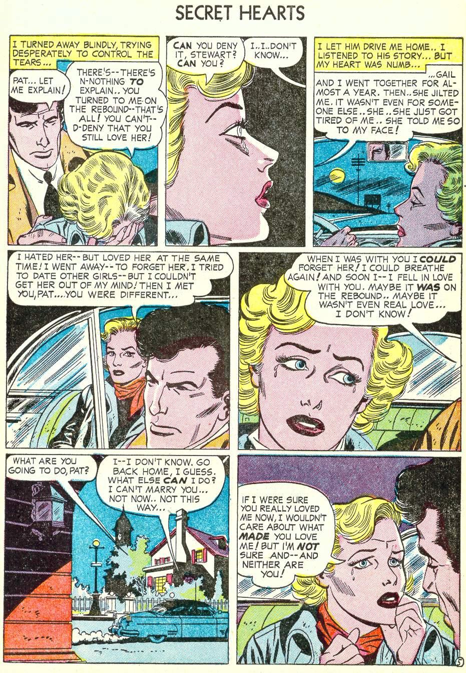 Read online Secret Hearts comic -  Issue #22 - 7