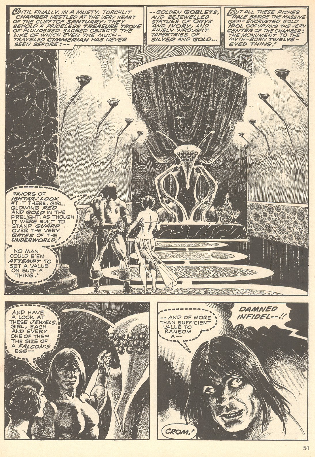 The Savage Sword Of Conan Issue #75 #76 - English 51