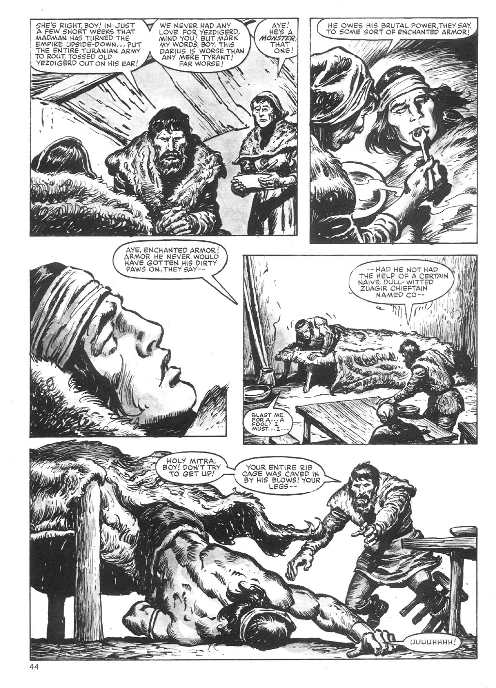 The Savage Sword Of Conan Issue #87 #88 - English 44