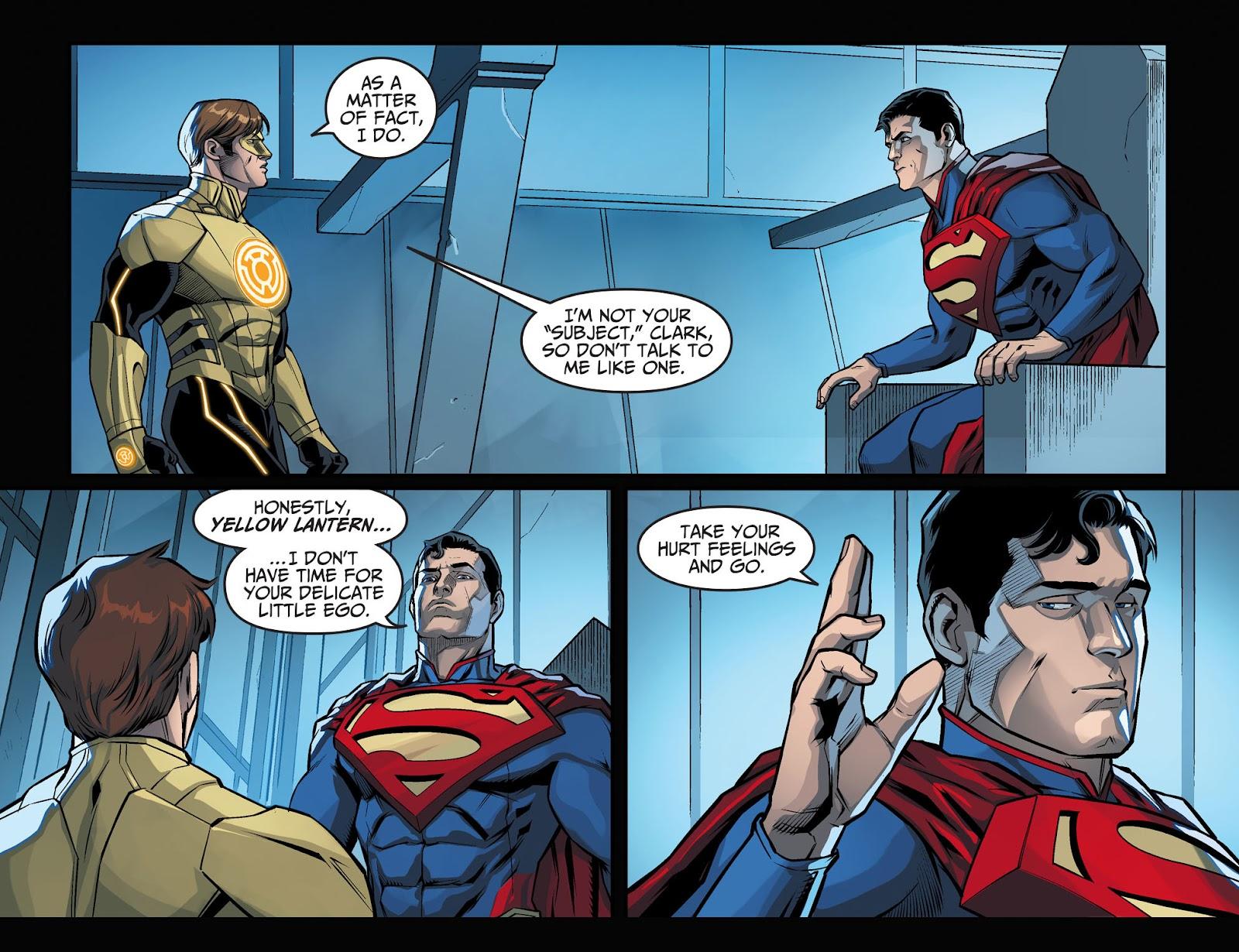 Injustice: Gods Among Us Year Four Issue #1 #2 - English 11