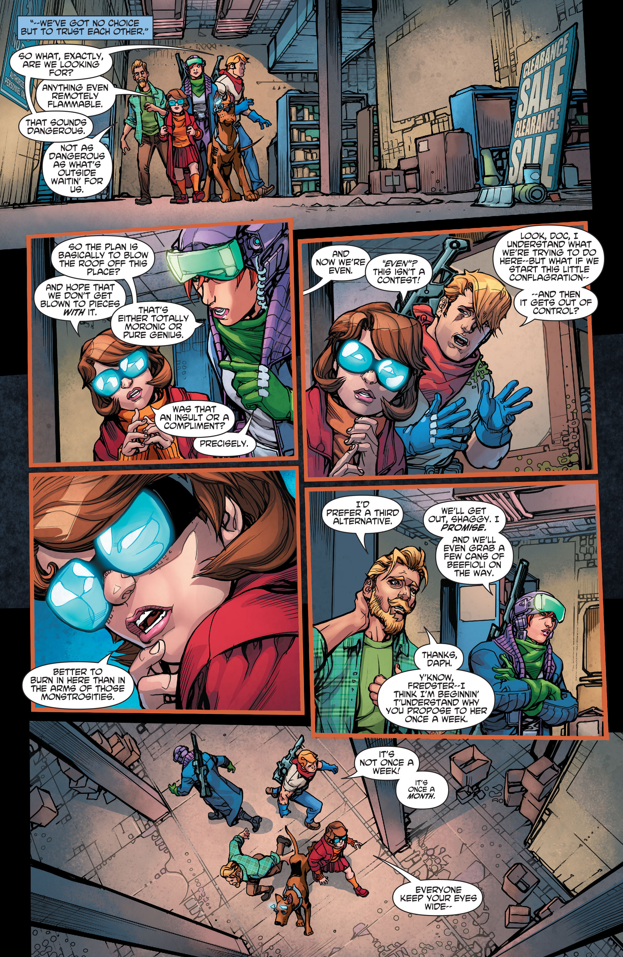 Read online Scooby Apocalypse comic -  Issue #7 - 11