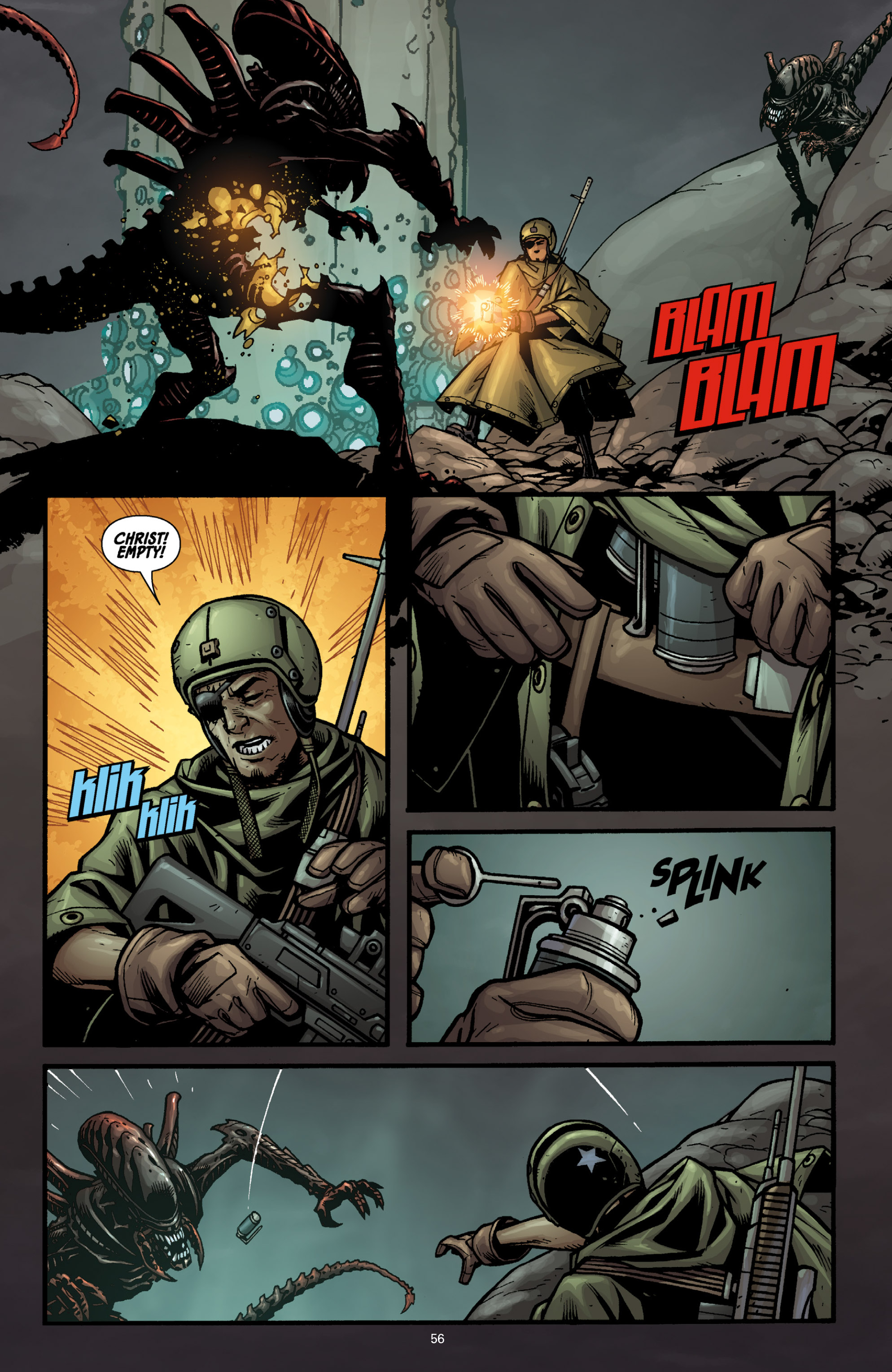 Aliens (2009) TPB Page 51