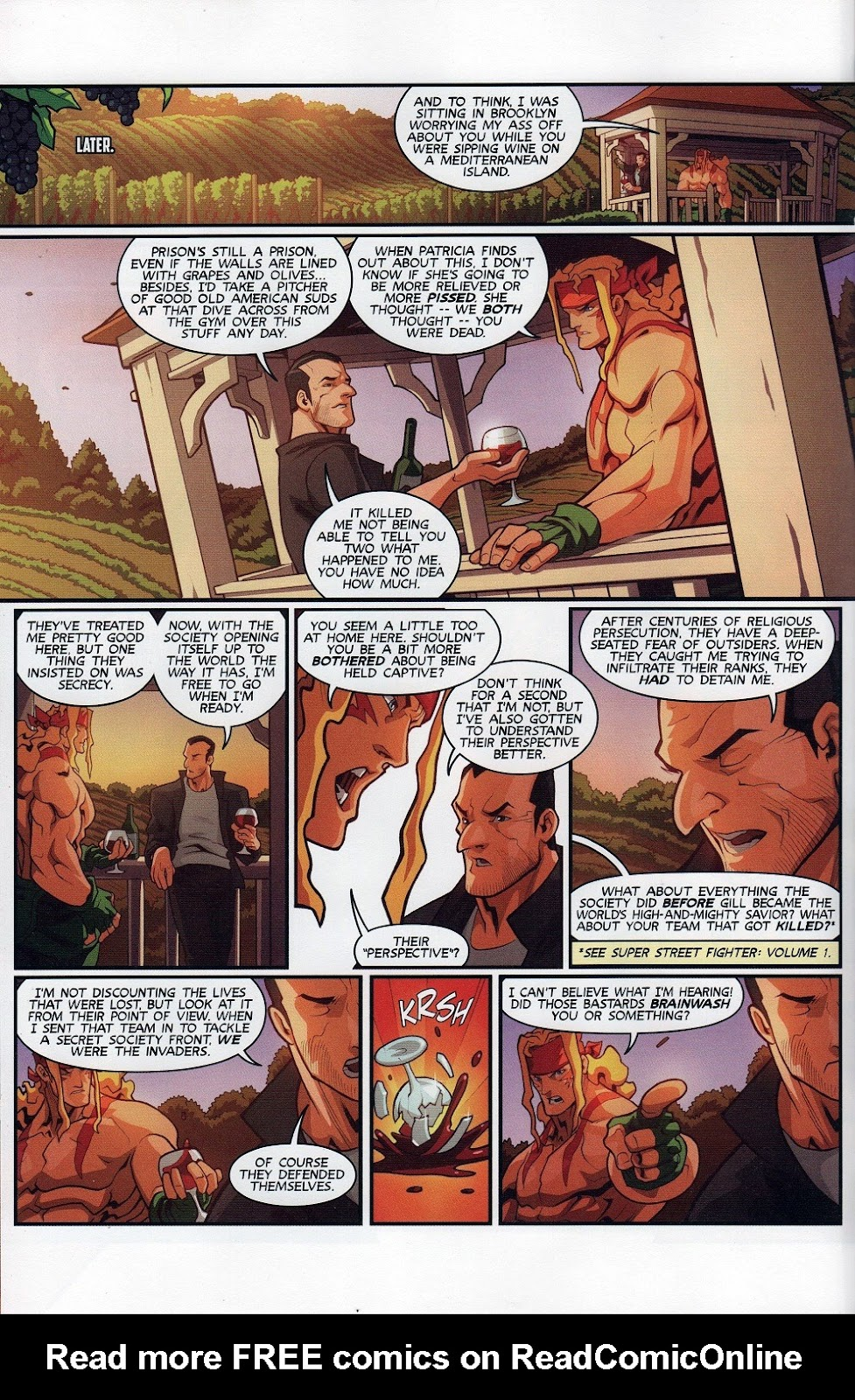 Street Fighter Unlimited Issue #7 #9 - English 10