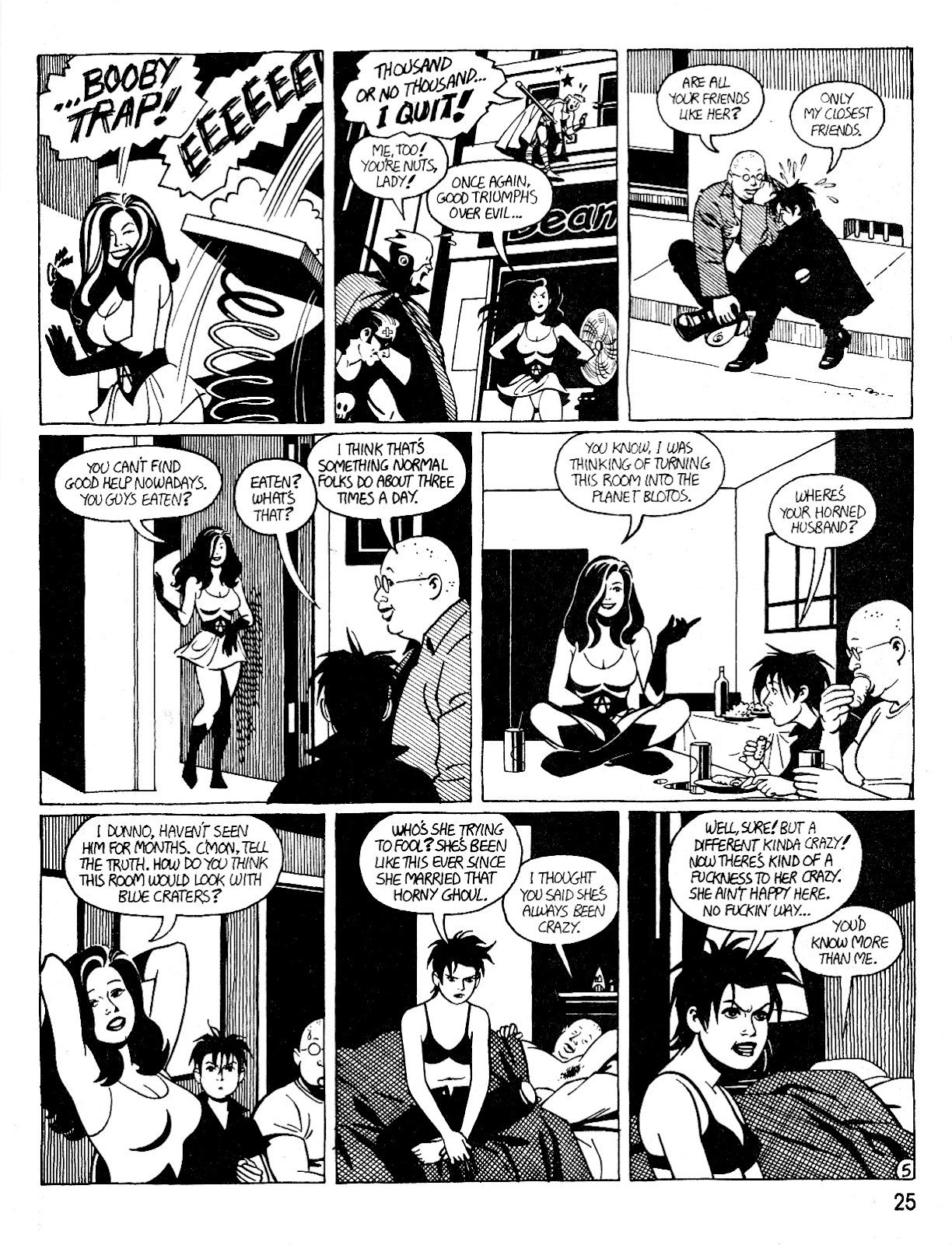 Love and Rockets (1982) Issue #25 #24 - English 29