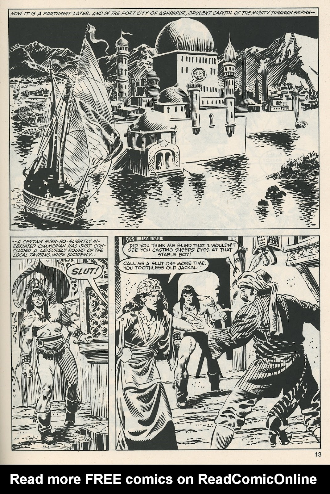The Savage Sword Of Conan Issue #112 #113 - English 13