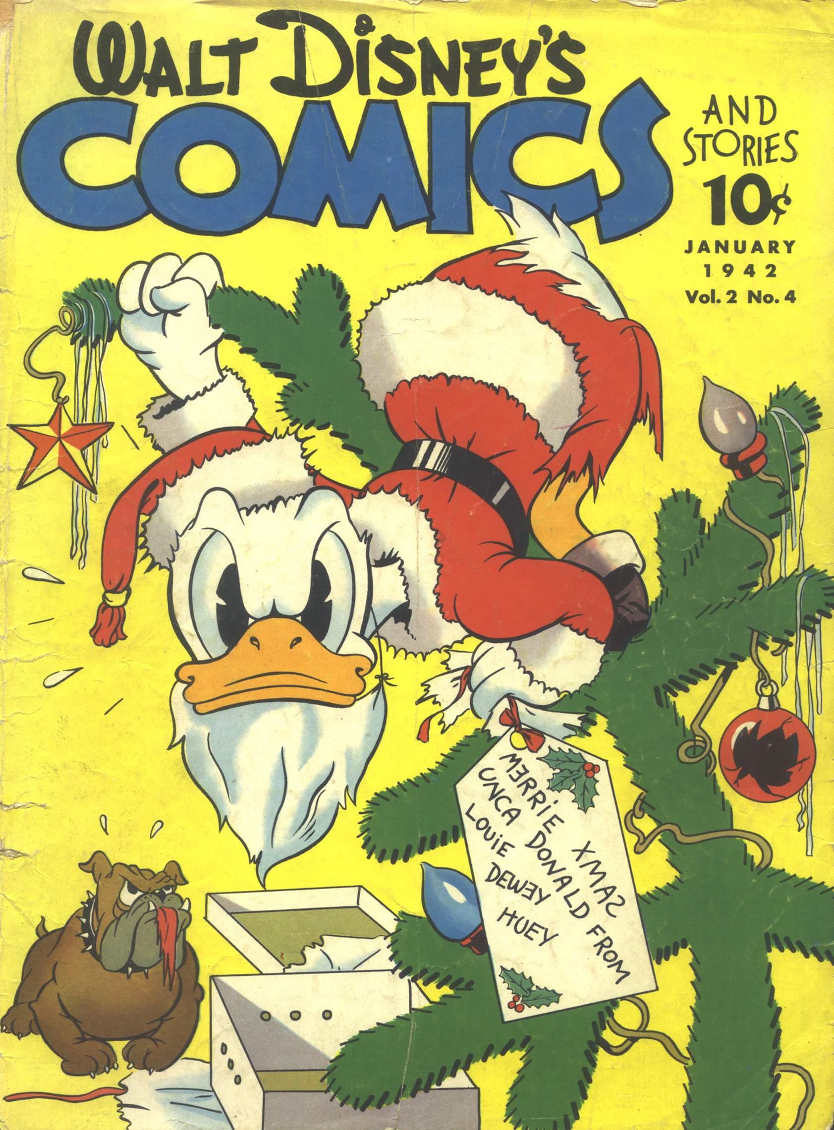 Walt Disneys Comics and Stories 16 Page 1