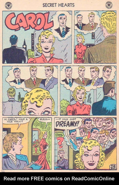 Read online Secret Hearts comic -  Issue #44 - 26