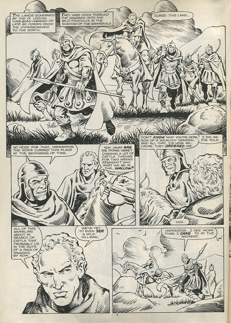 The Savage Sword Of Conan Issue #178 #179 - English 4