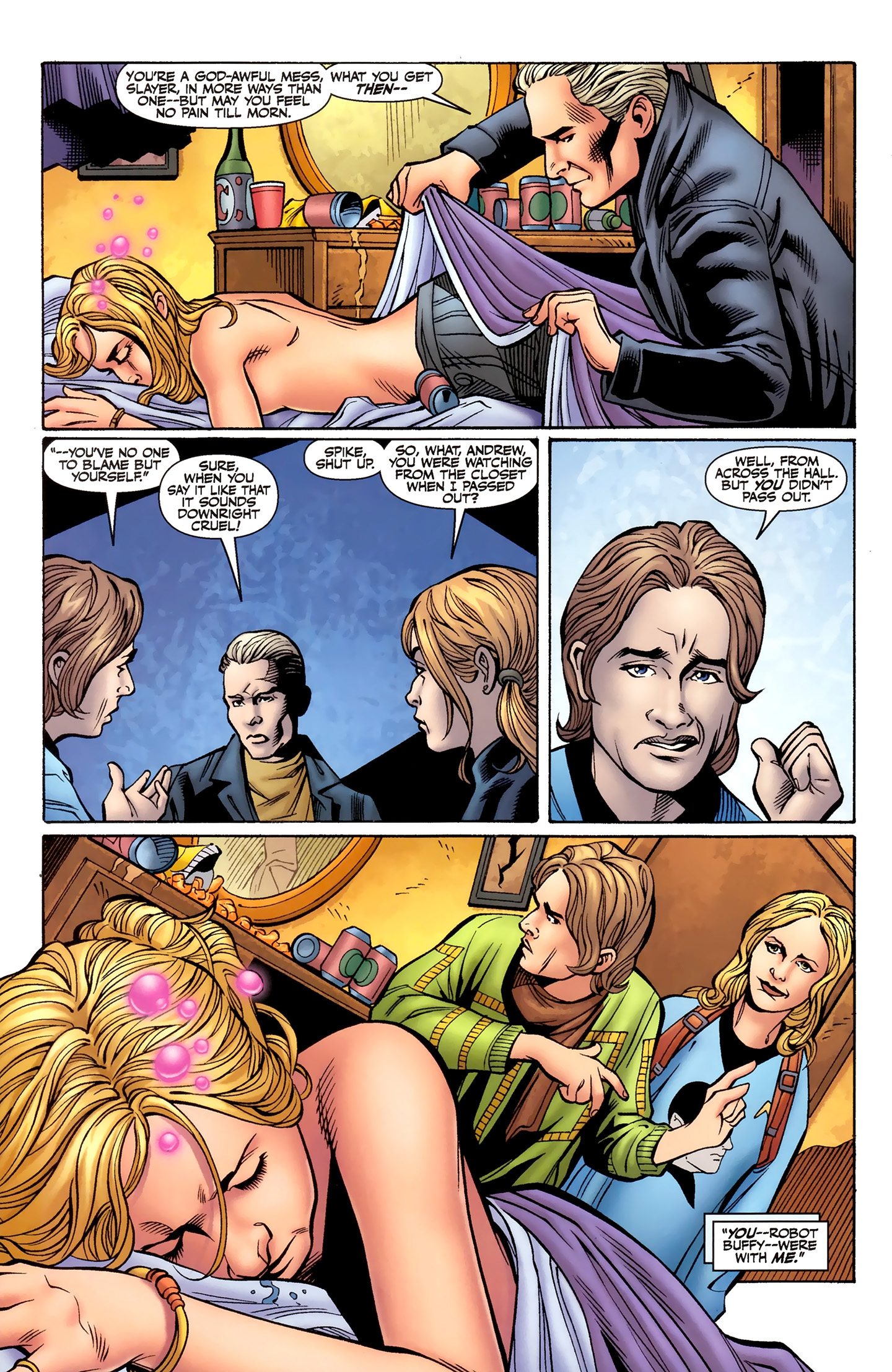 Read online Buffy the Vampire Slayer Season Nine comic -  Issue #8 - 11