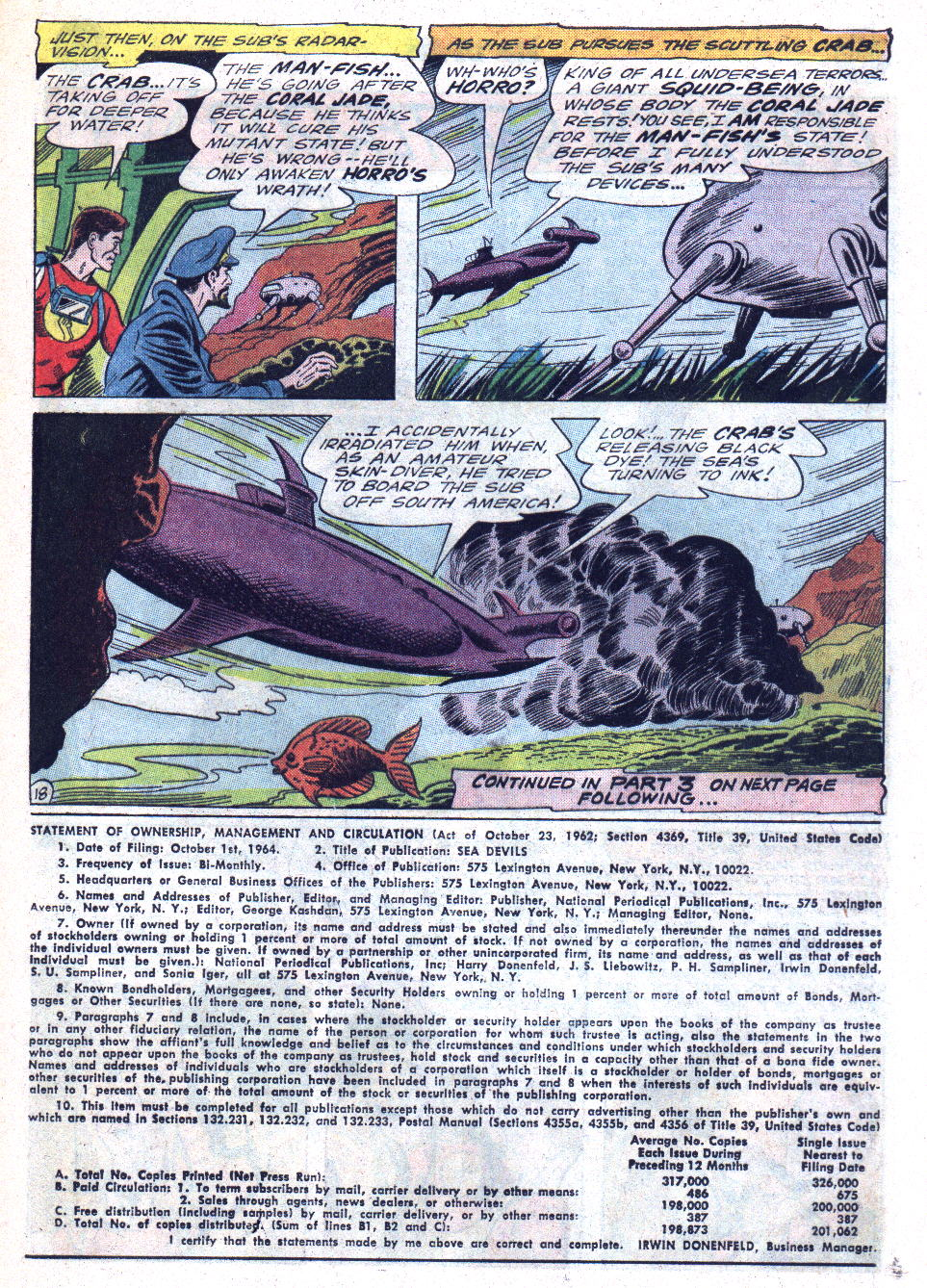 Read online Sea Devils comic -  Issue #22 - 25