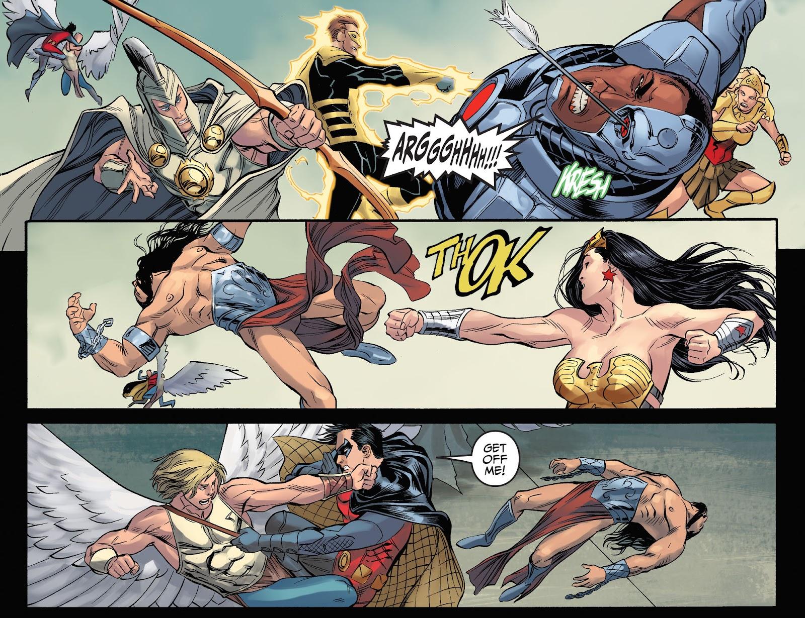 Injustice: Gods Among Us Year Four Issue #23 #24 - English 9