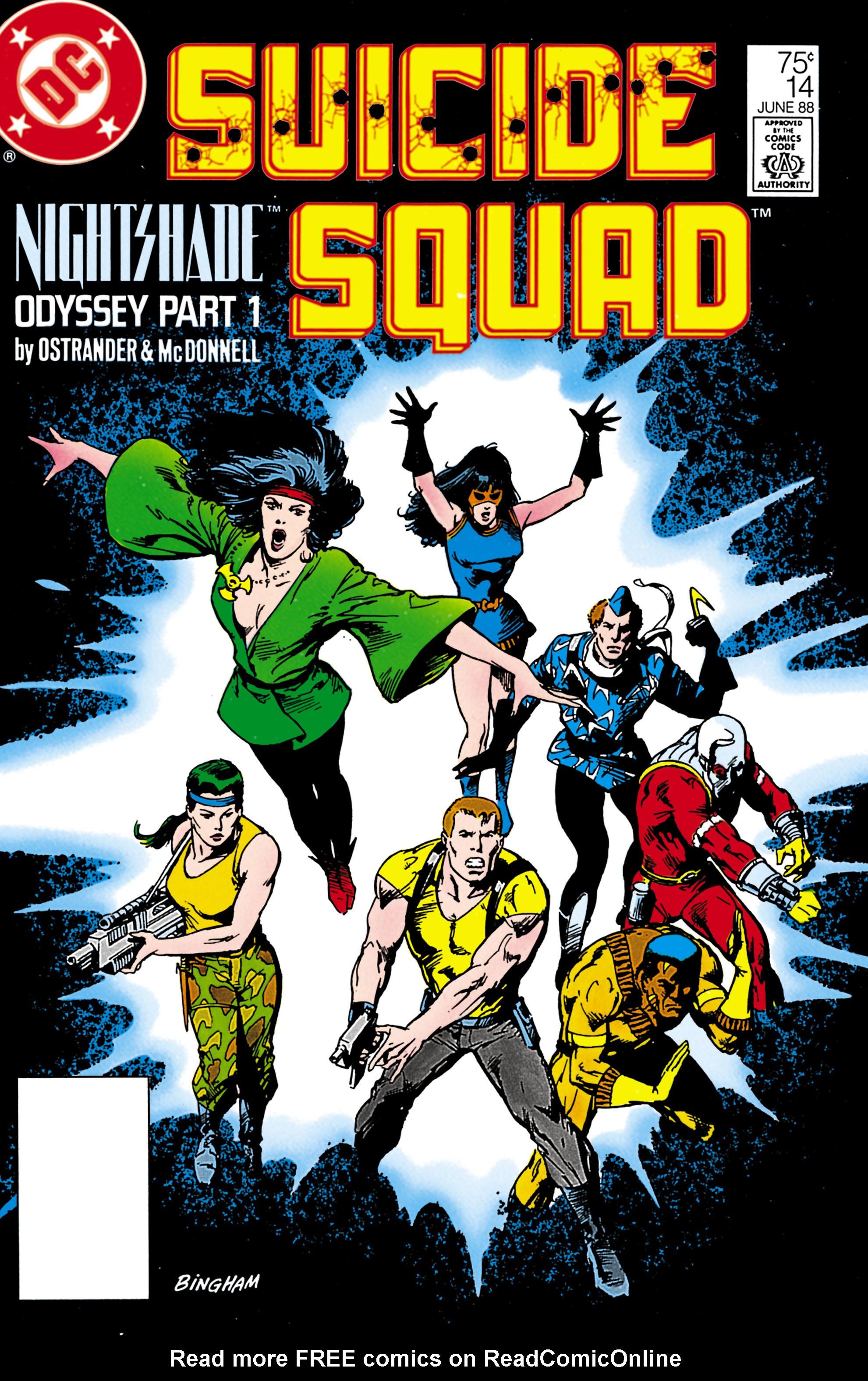Suicide Squad (1987) 14 Page 1