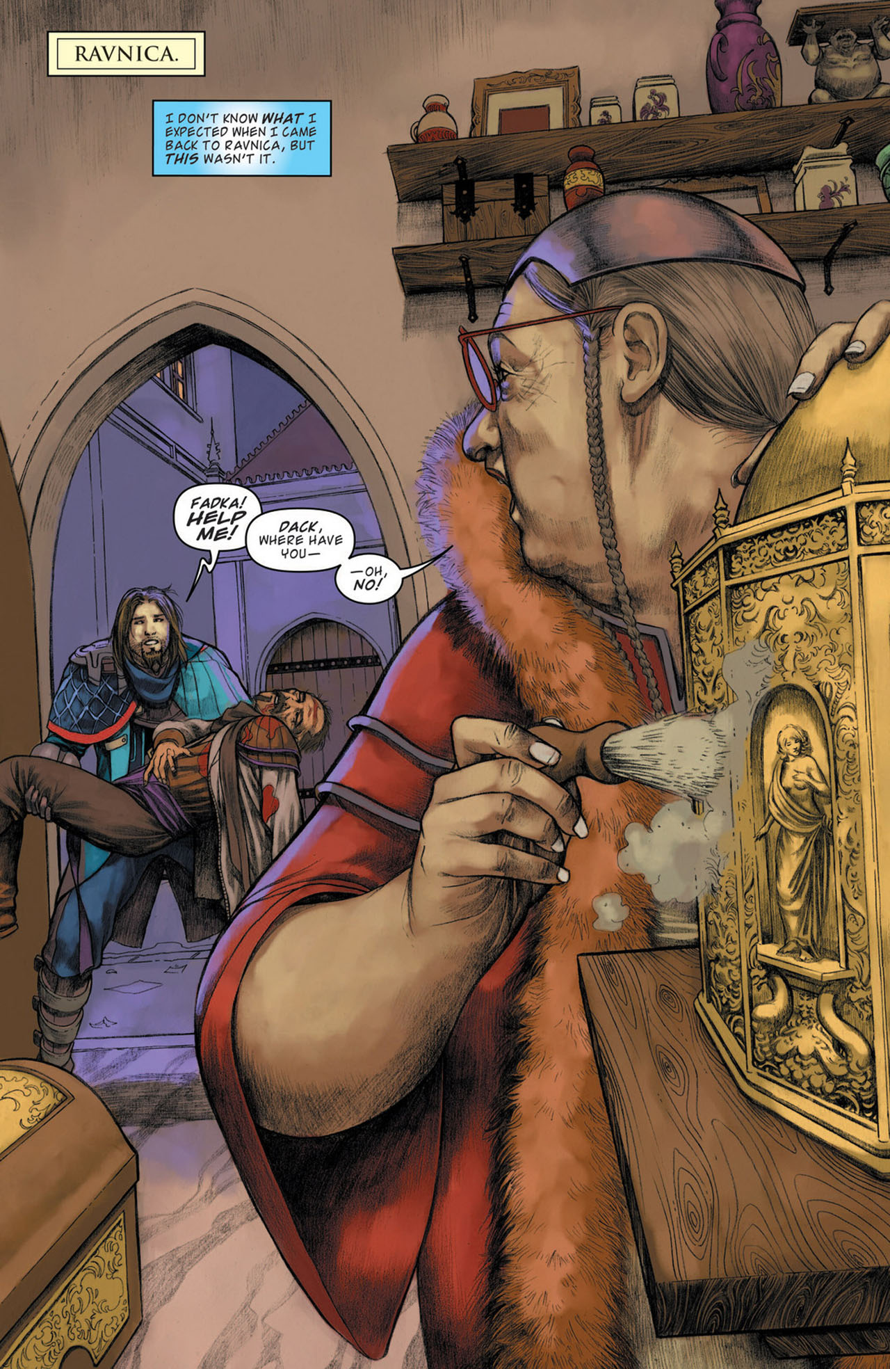 Read online Magic: The Gathering--Path of Vengeance comic -  Issue #1 - 3