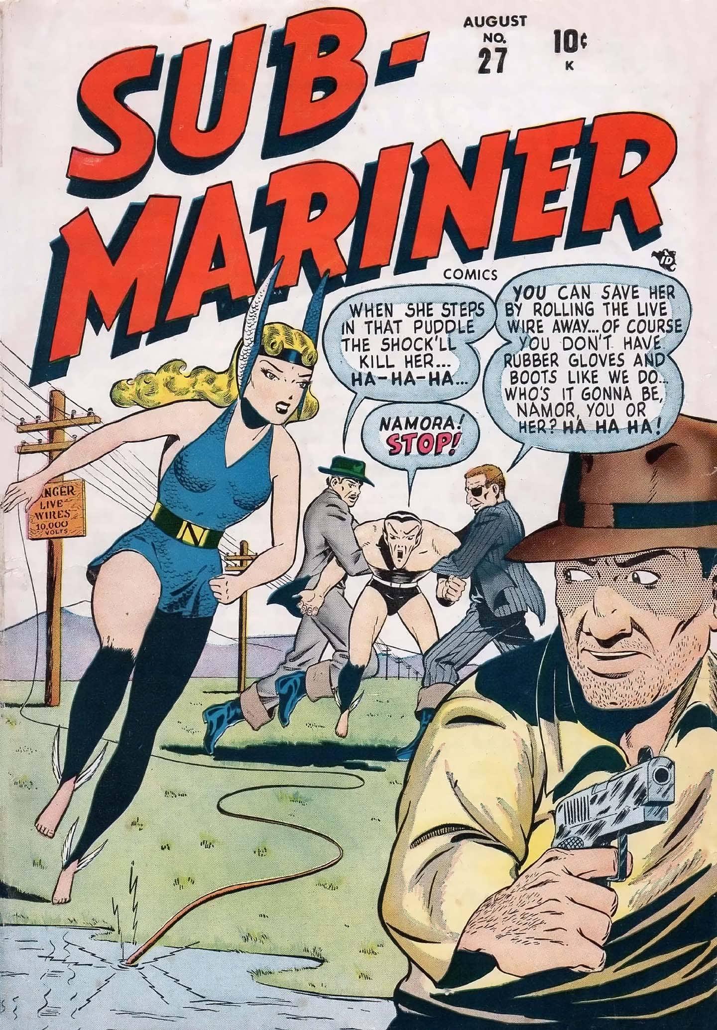 Sub-Mariner Comics #27 #27 - English 1