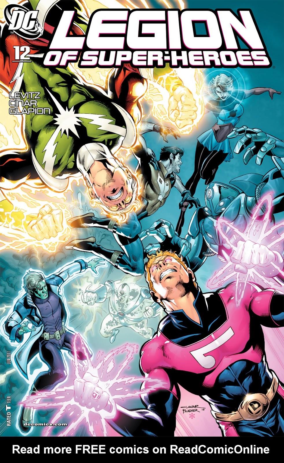 Legion of Super-Heroes (2010) Issue #12 #13 - English 1