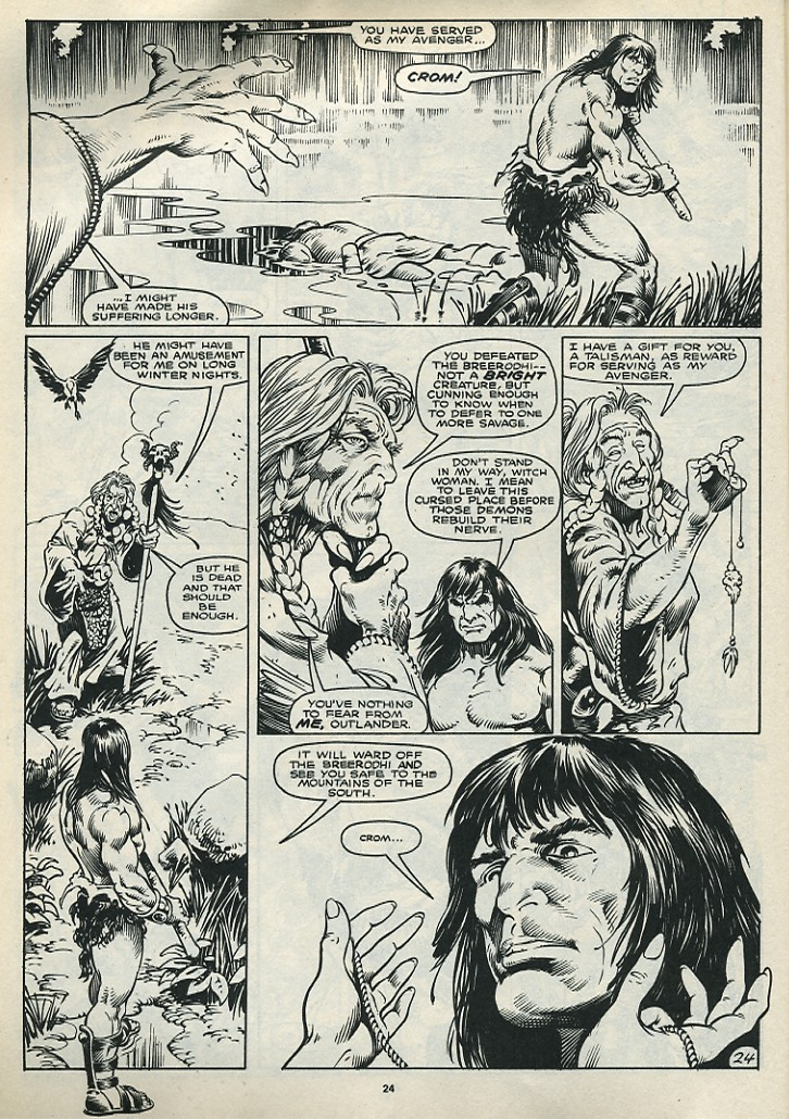 The Savage Sword Of Conan Issue #172 #173 - English 26
