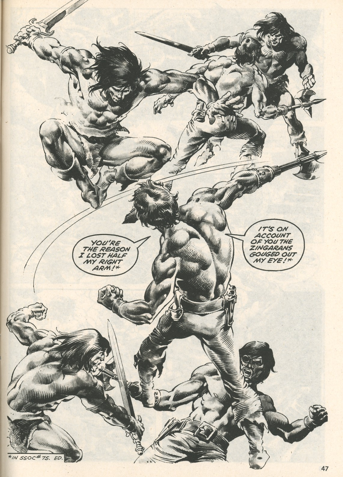 The Savage Sword Of Conan Issue #107 #108 - English 47