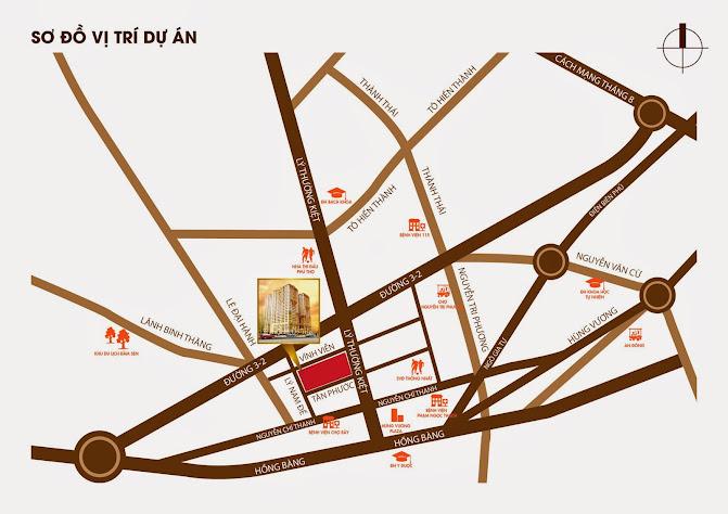 Bán căn hộ giá rẻ Quận 11 tại TP HCM - Căn hộ Tân Phước