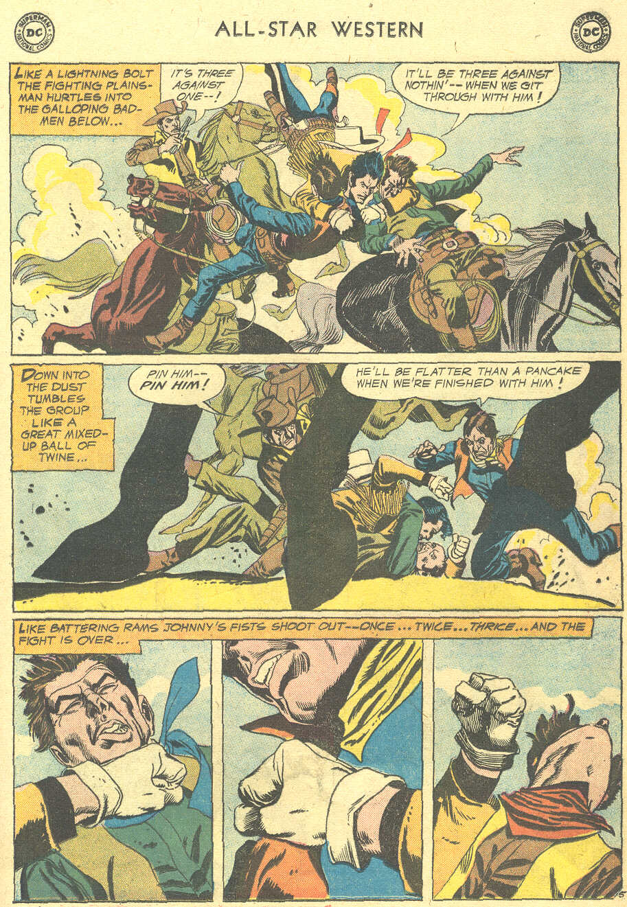 Read online All-Star Western (1951) comic -  Issue #105 - 29