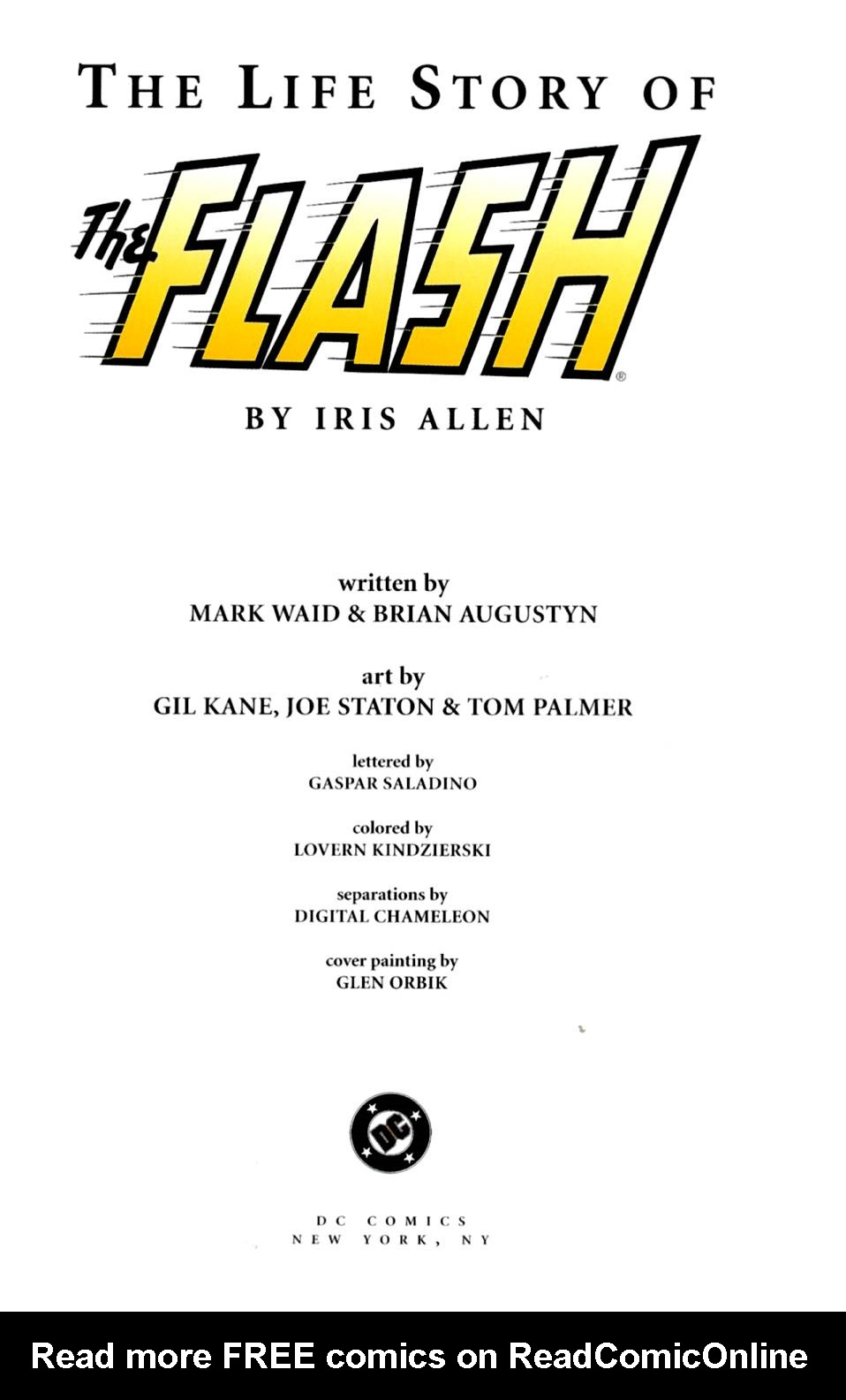 Read online The Life Story of the Flash comic -  Issue # Full - 3