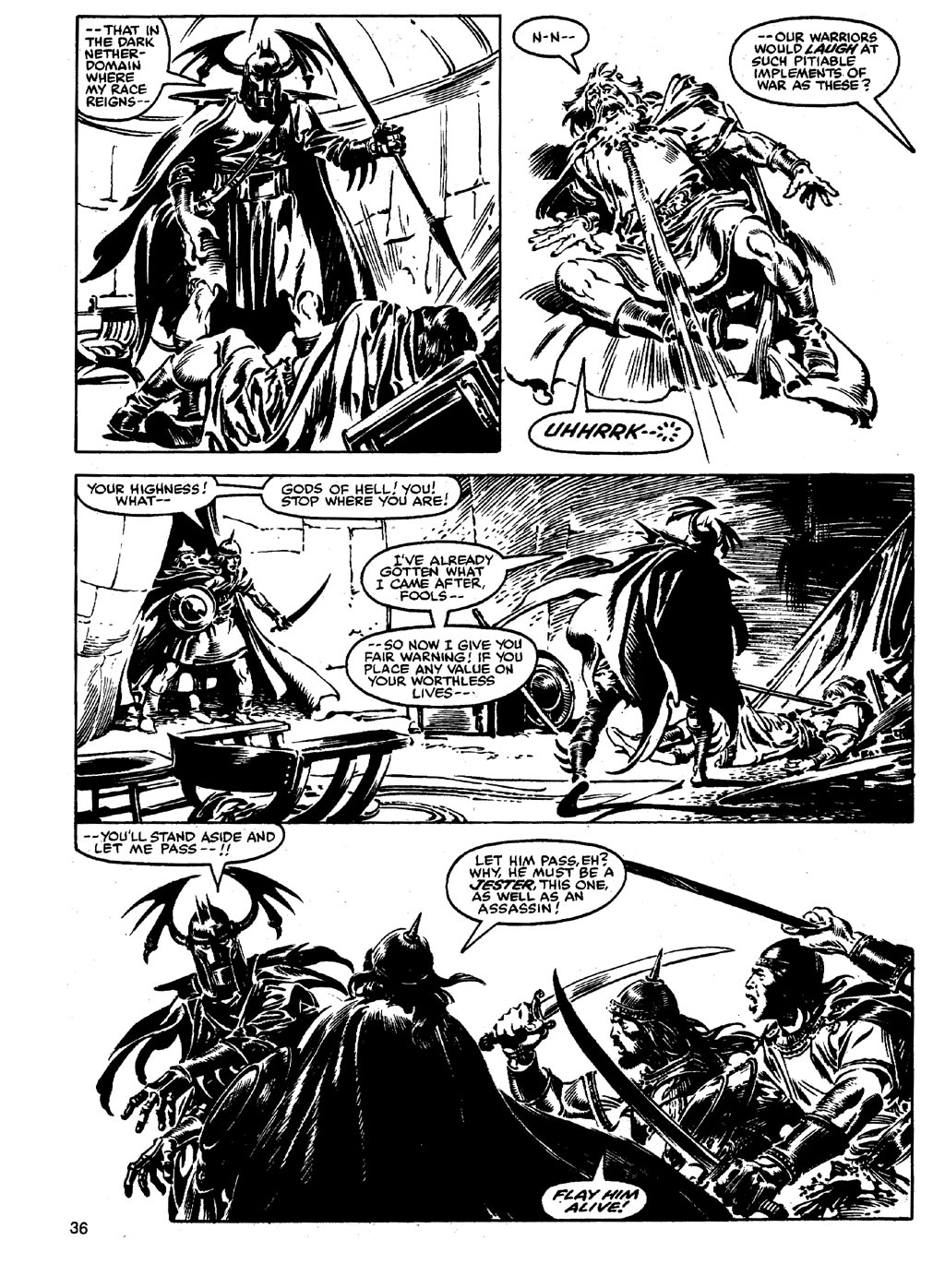 The Savage Sword Of Conan Issue #90 #91 - English 35