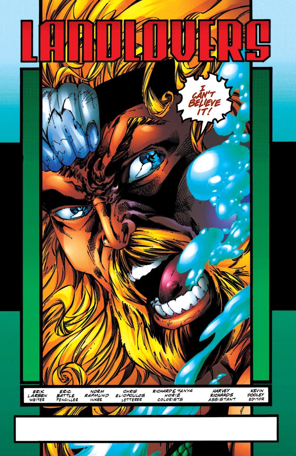 Aquaman (1994) Issue #54 #60 - English 2