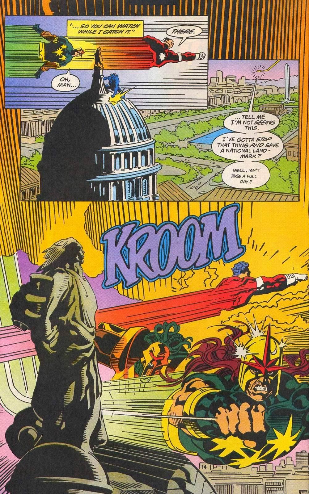 Read online Secret Defenders comic -  Issue #11 - 11
